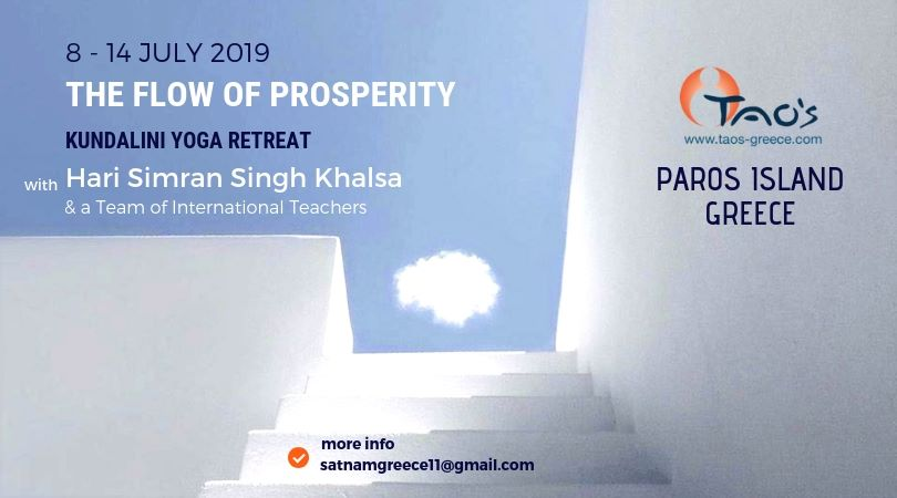 The Flow of Prosperity – Retreet di Yoga – Paros, Greece